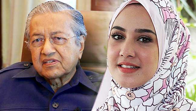 Fathia-Latiff-dan-Mahathir.