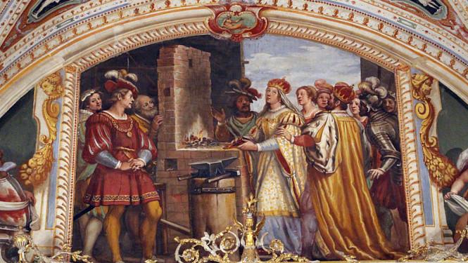 Sala-delle-udienze-di-maria-maddalena-daustria-affreschi-di-matteo-rosselli-lunette-con-figure-storiche-femminilie-1618-Art-gender-and-the-Renaissance-665x375.jpg